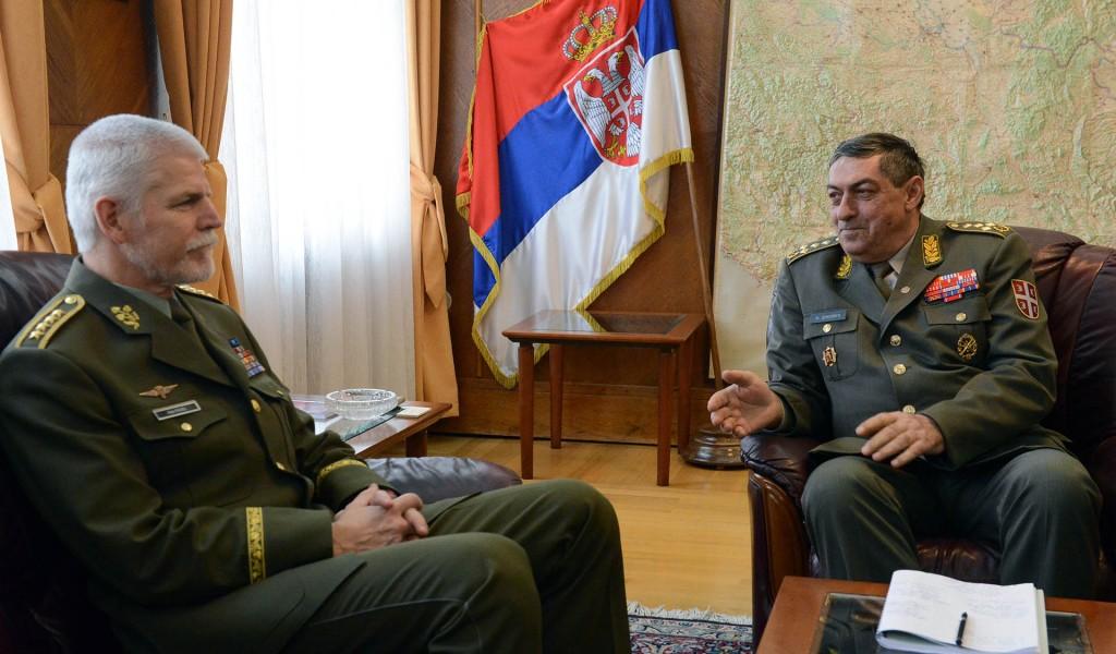 General Diković s predsedavajućim Vojnom komitetu NATO a