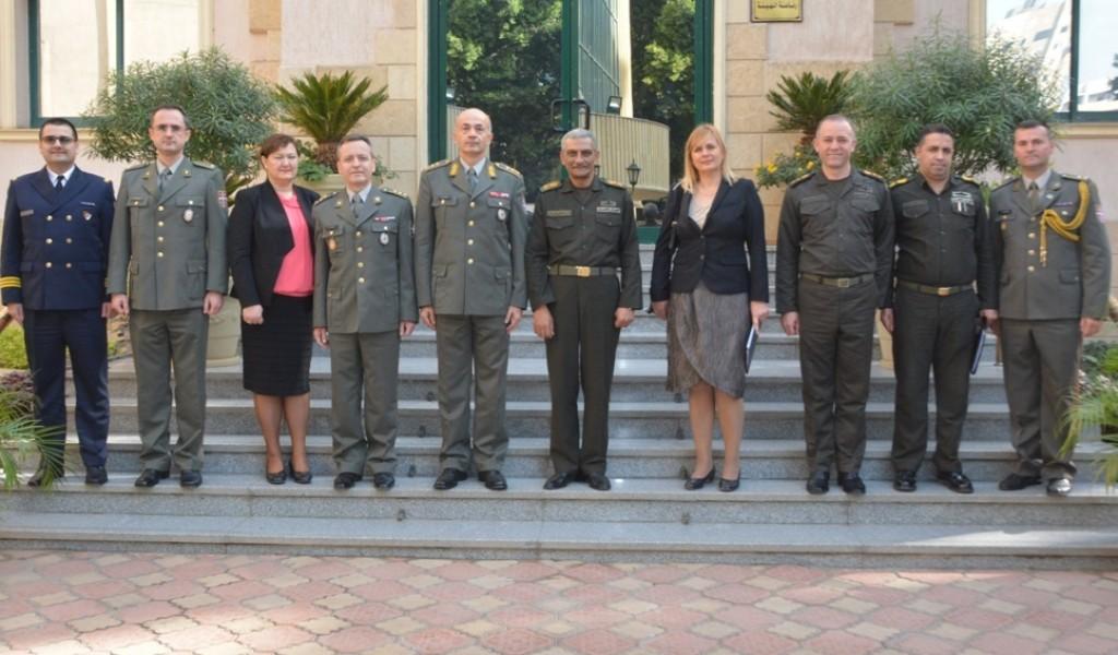 Одржано заседање Мешовитог војног комитета у Каиру