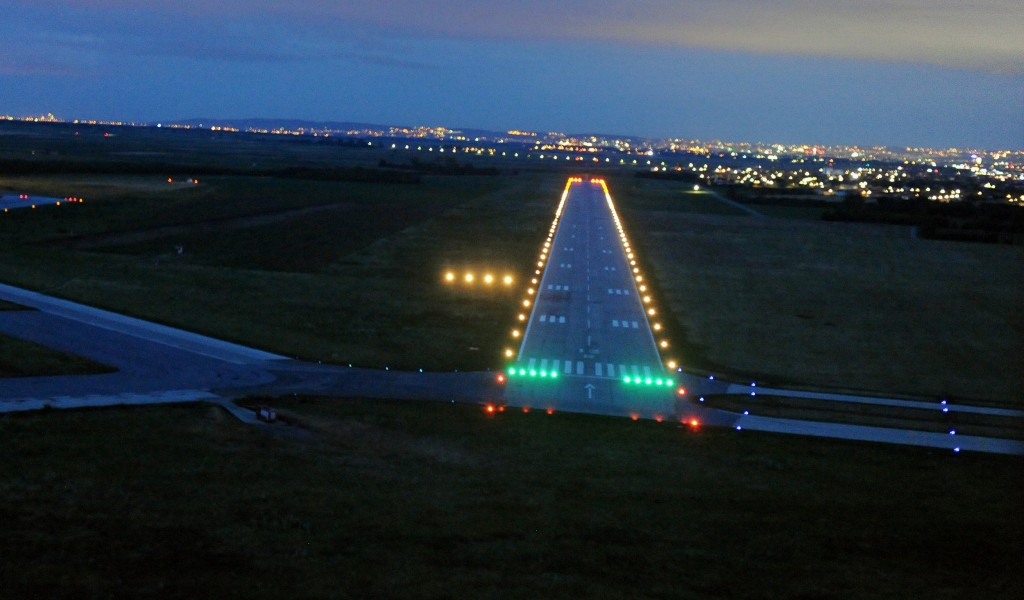 Minister Vulin After 21 years airport lightingsystem renewed at the Batajnica Airport
