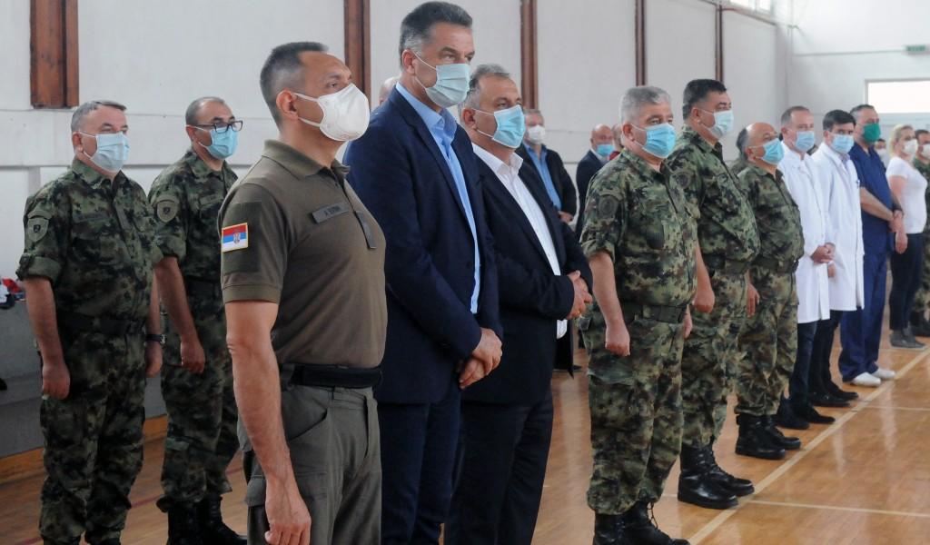 Министар Вулин Војска Србије је још једном доказала да припада свима