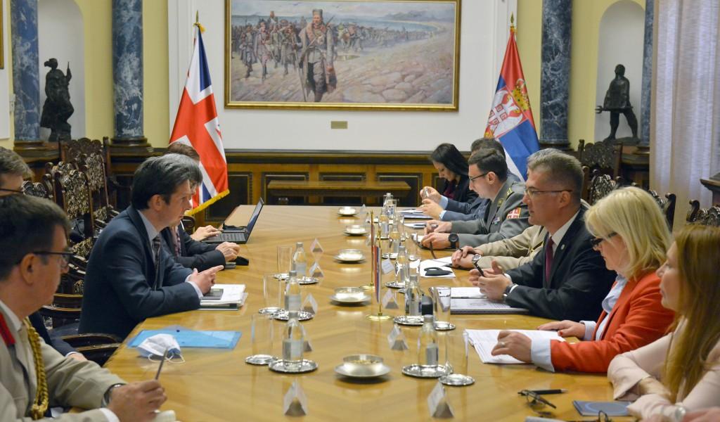 Билатералне консултације у области безбедносне и одбрамбене политике Србије и Уједињеног Краљевства