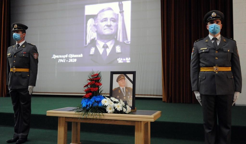 Komemoracija povodom smrti generala armije u penziji Dragoljuba Ojdanića
