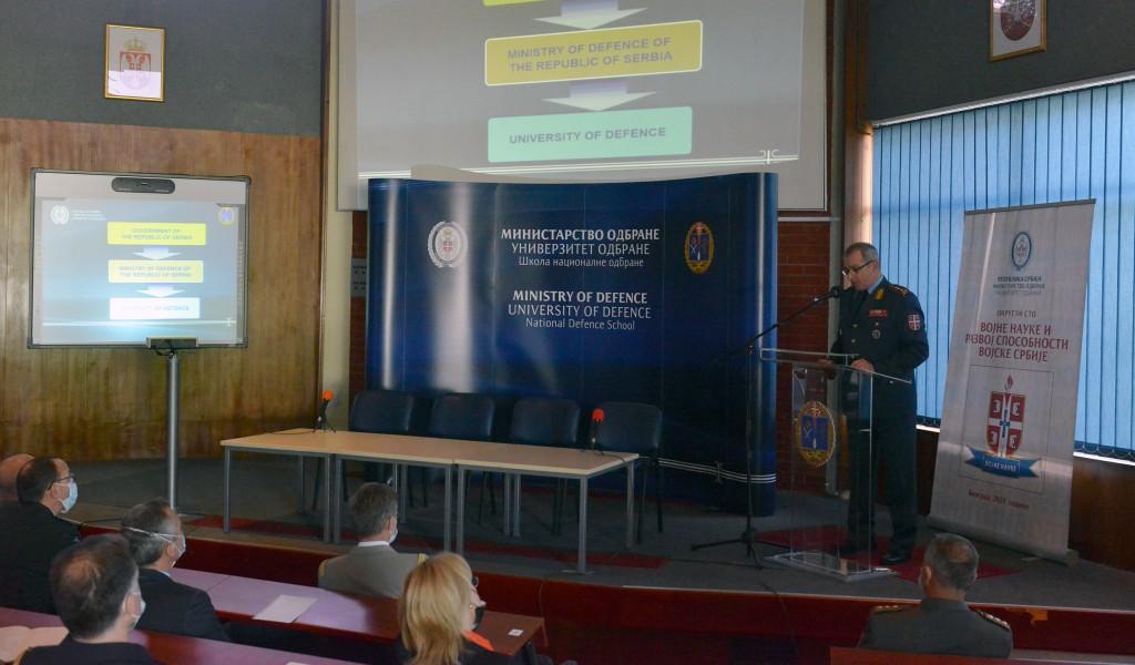 Полазници Института за високе студије безбедности из области националне одбране Француске посетили Универзитет одбране