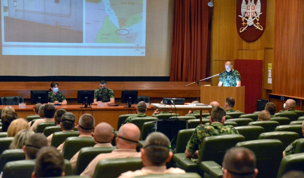 Нови тим Војске Србије за заштиту бродова у операцији Аталанта