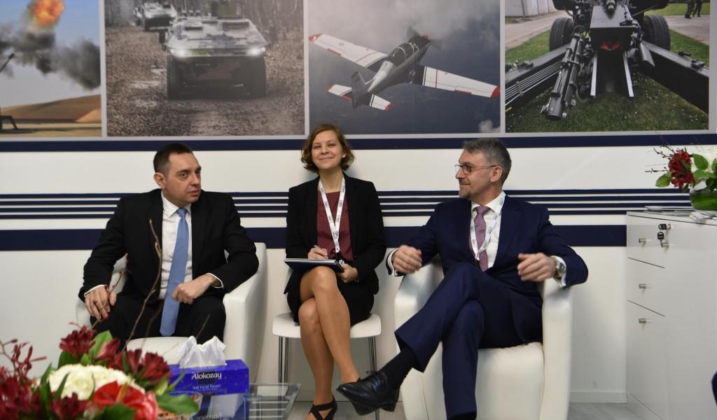 Састанак министра Вулина и министра одбране Чешке