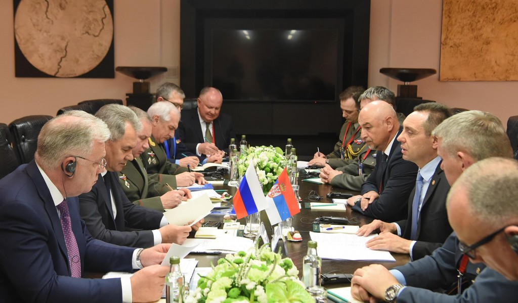 Министар Вулин Односи министарстава одбране Србије и Русије на највишем историјском нивоу