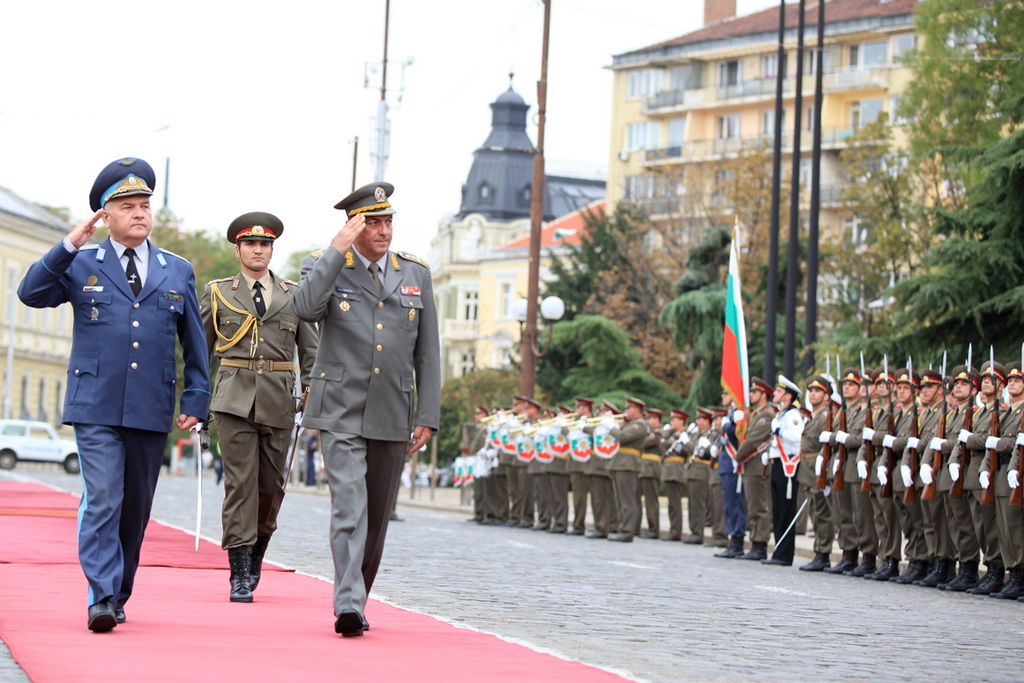 Serbian Armed Forces Chief of General Staff visits Bulgaria