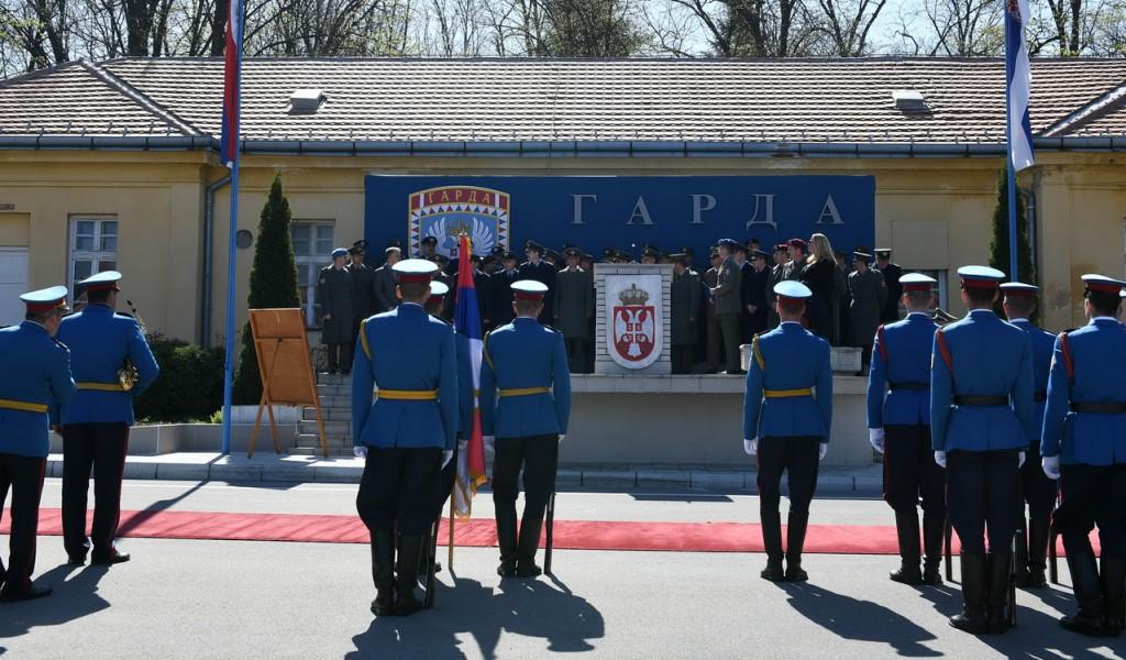 Polaznici 63 klase Komandno štabnog usavršavanja u poseti Gardi