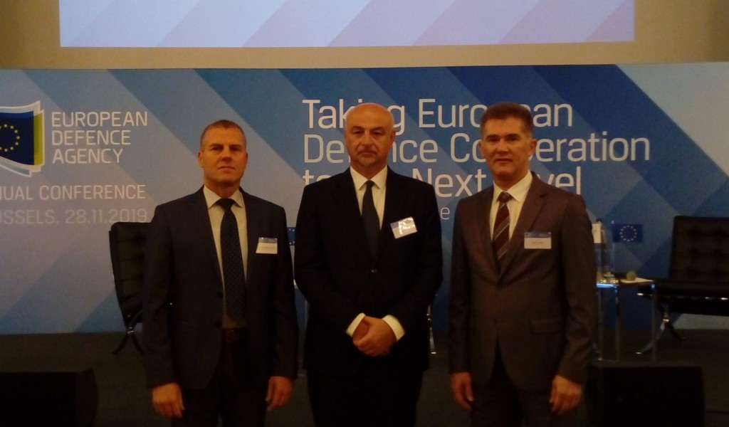 Ministry of Defense delegation at the Annual Conference of the European Defence Agency
