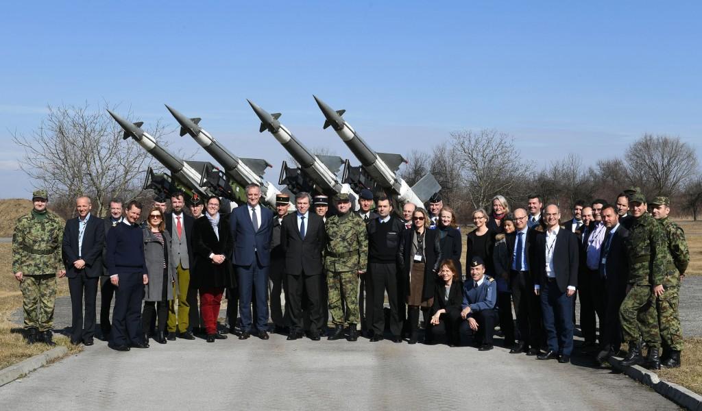 Poseta predstavnika francuskog Instituta za visoke studije nacionalne odbrane
