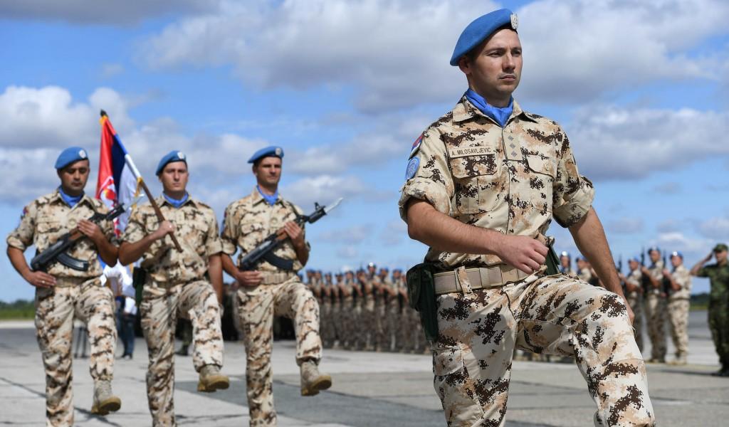 Svečani ispraćaj kontingenta Vojske Srbije u misiju UN na Kipru