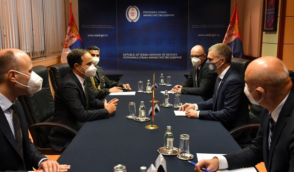 Састанак министра Стефановића са амбасадором Турске Билгичем