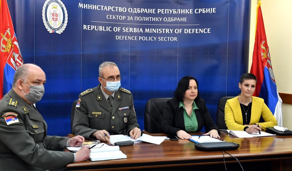 Informisanje stranih vojnih predstavnika o budžetu odbrane Srbije