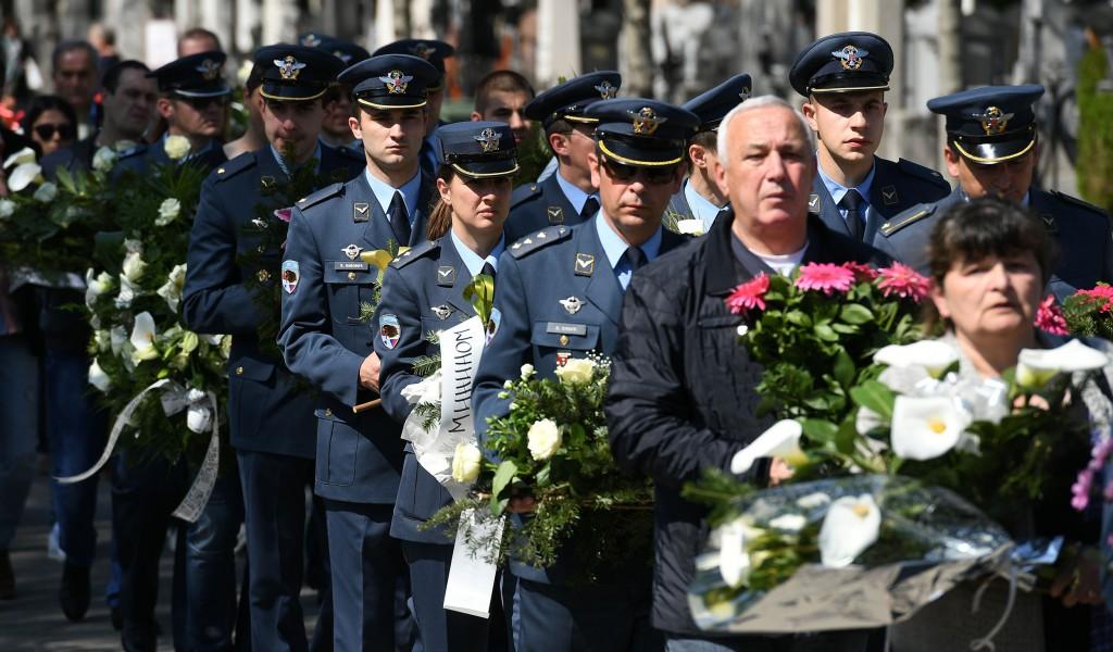 Сахрањени пилоти страдали у удесу авиона Супер галеб Г 4
