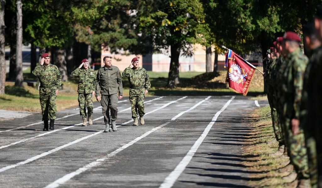 Minister Vulin 63rd Parachute always brigade never battalion