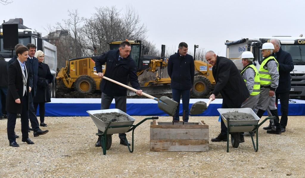 U Beogradu počela izgradnja stanova za pripadnike snaga bezbednosti