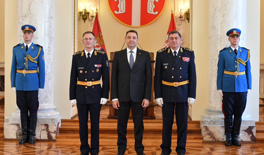Minister Vulin The Serbian Armed Forces follows its supreme commander