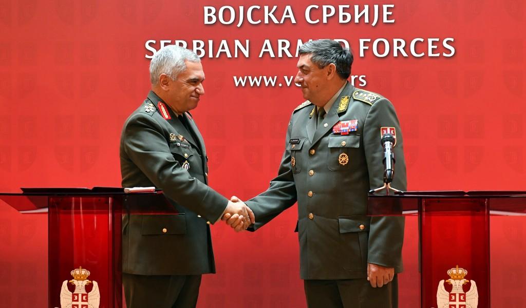 Sastanak generala Dikovića sa predsedavajućim Vojnom komitetu EU