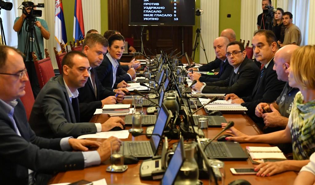 Одржана Шеста седница Одбора за одбрану и унутрашње послове