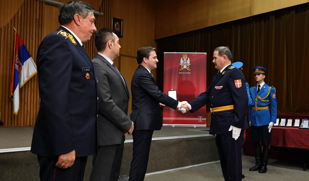 Ceremony of Presenting Decorations by the President of the Republic of Serbia
