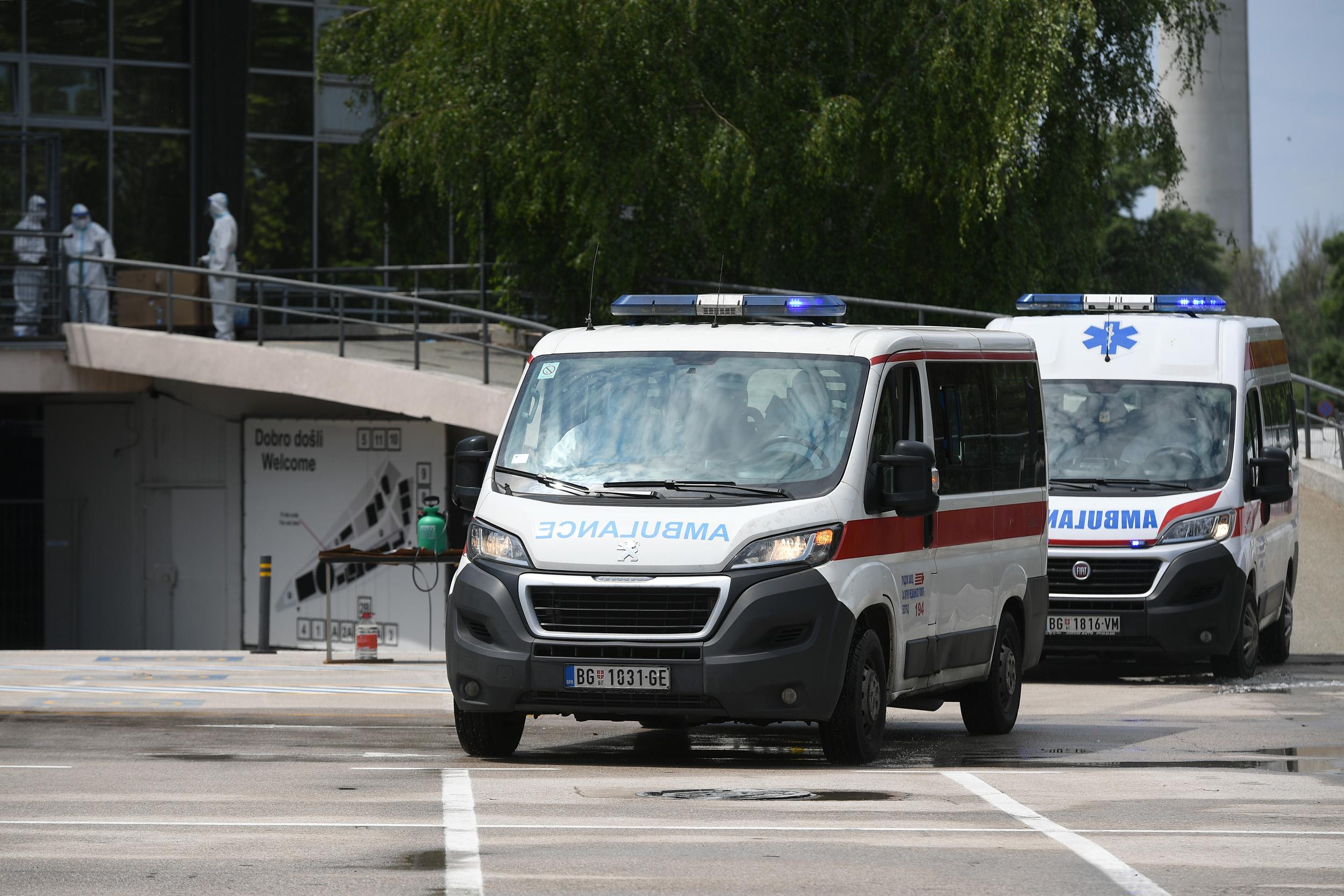 Zatvara se privremena bolnica na Beogradskom sajmu