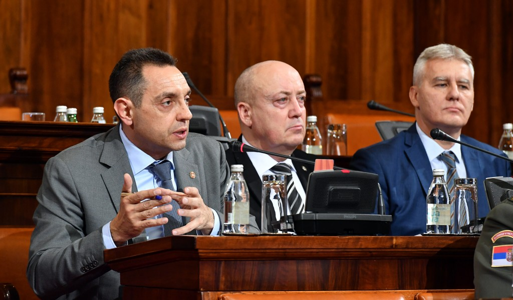 Minister Vulin Amendments to the law will ensure more efficient management and functioning of the Serbian Armed Forces