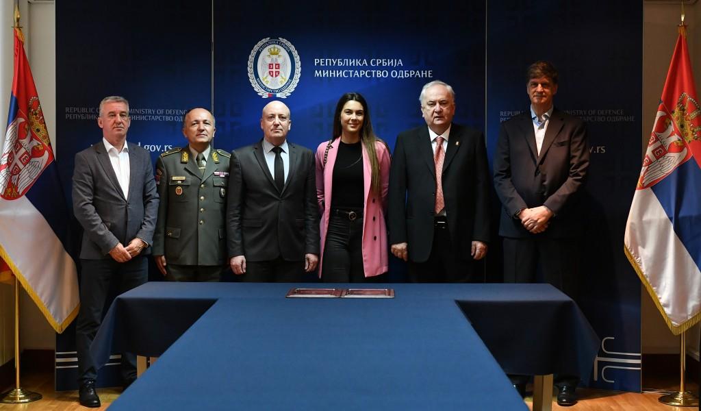 Потписан Споразум о сарадњи између Министарства одбране и Олимпијског комитета Србије