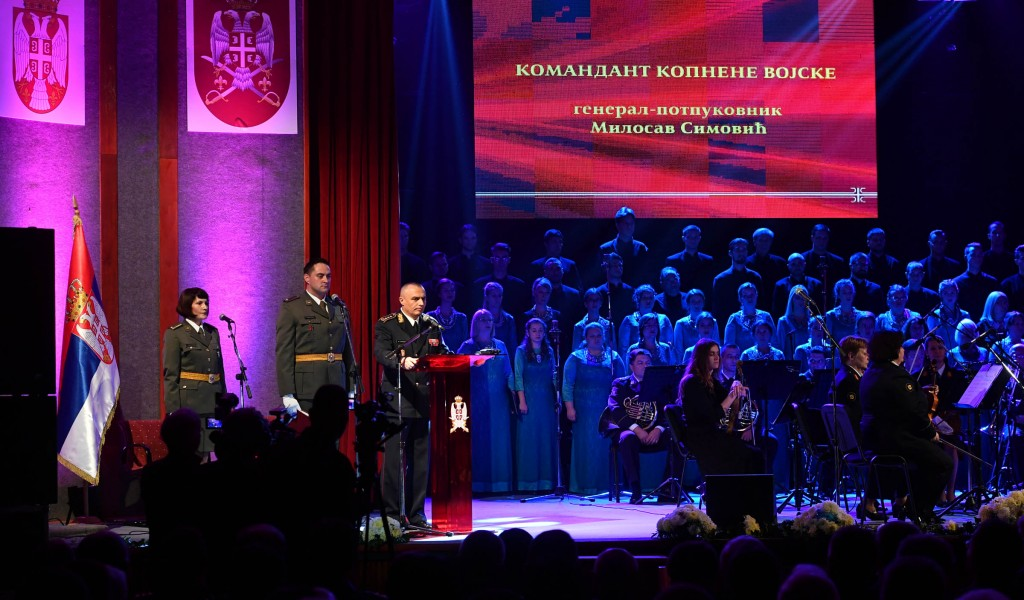 Official Celebration on the Occasion of the Day of the Army and the Day of Infantry