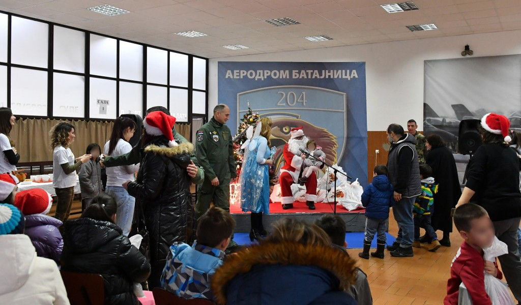 New Year s humanitarian campaign on Batajnica airfield