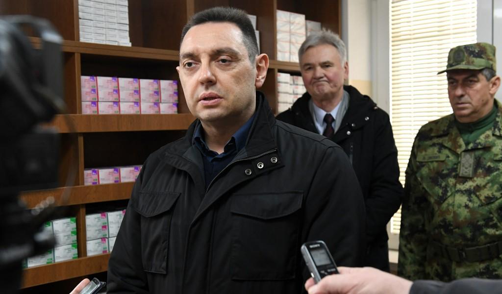 Министар Вулин Упућивање црногорских официра на КиМ је политичка порука подршке косовској независности