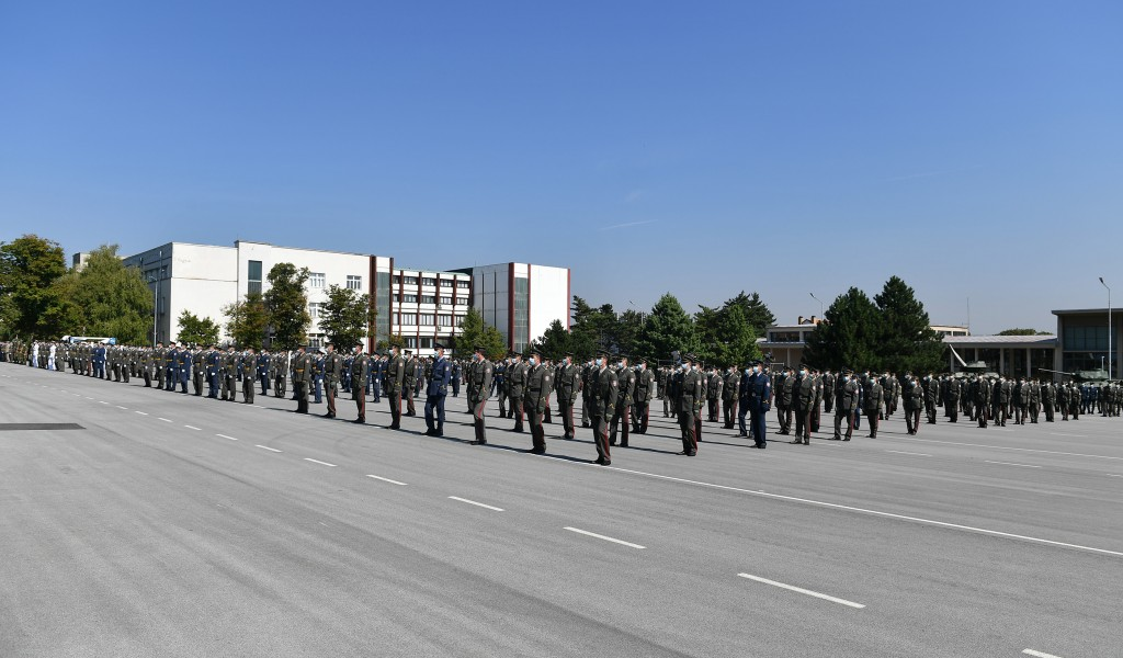 Generalna proba promocije najmlađih oficira Vojske Srbije