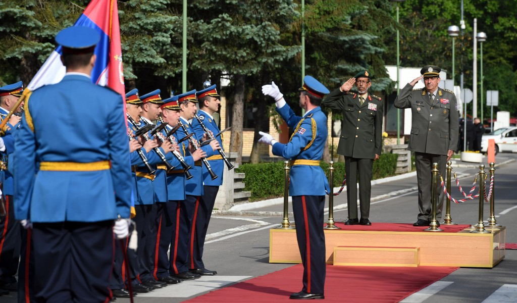 Начелник Генералштаба Оружаних снага УАЕ у посети Србији