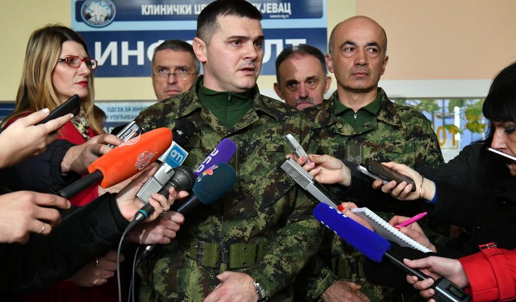Наставак потраге за несталим радницима после експлозије у ТРЗ Крагујевац