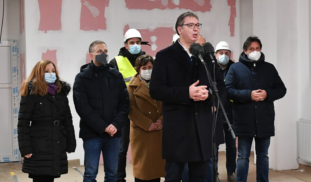 President Vučić The new Covid hospital in Kruševac will be completed by 15 December