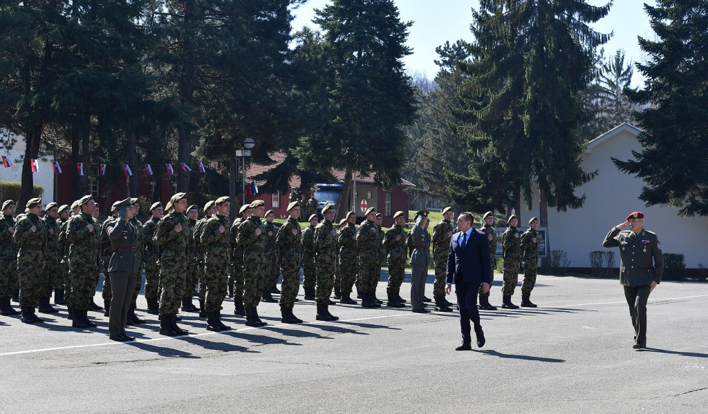 Ministar Vulin na polaganju vojničke zakletve u Leskovcu Vojska Srbije se ne da pokolebati bez obzira odakle opasnost preti