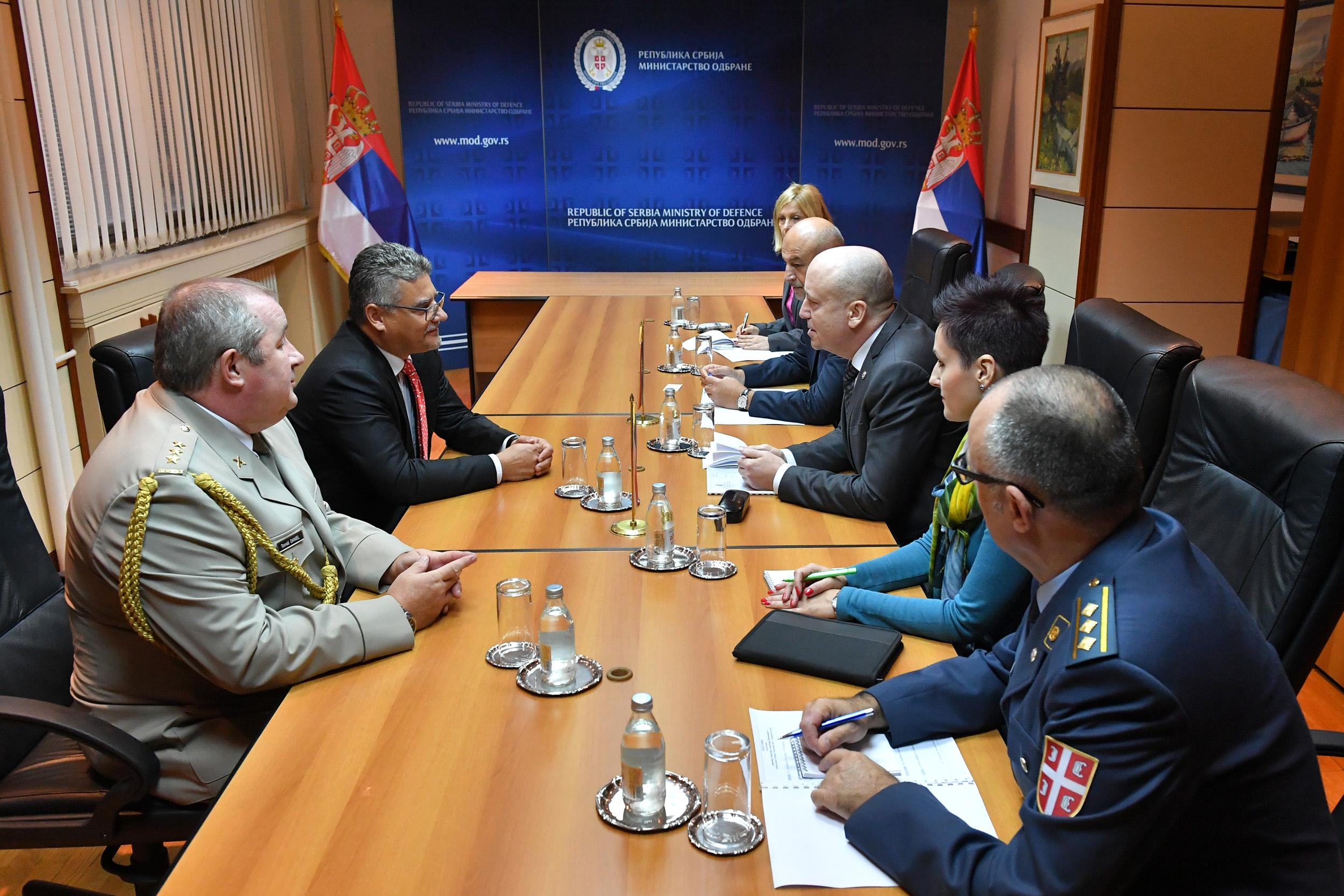 Sastanak državnog sekretara Živkovića i ambasadora Češke Republike