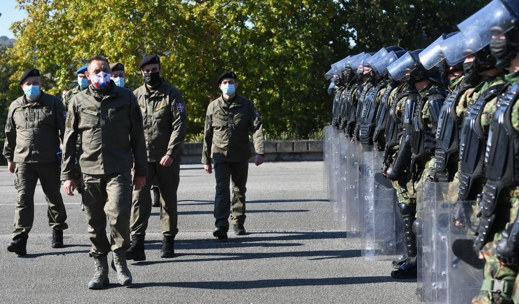 Ministar Vulin Vojna policija uvek spremna da zaštiti našu zemlju način života i ustavni poredak
