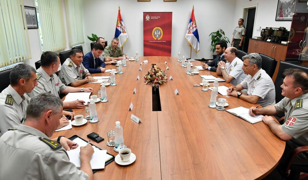 Генерал Диковић примио заменика команданта операције Аталанта