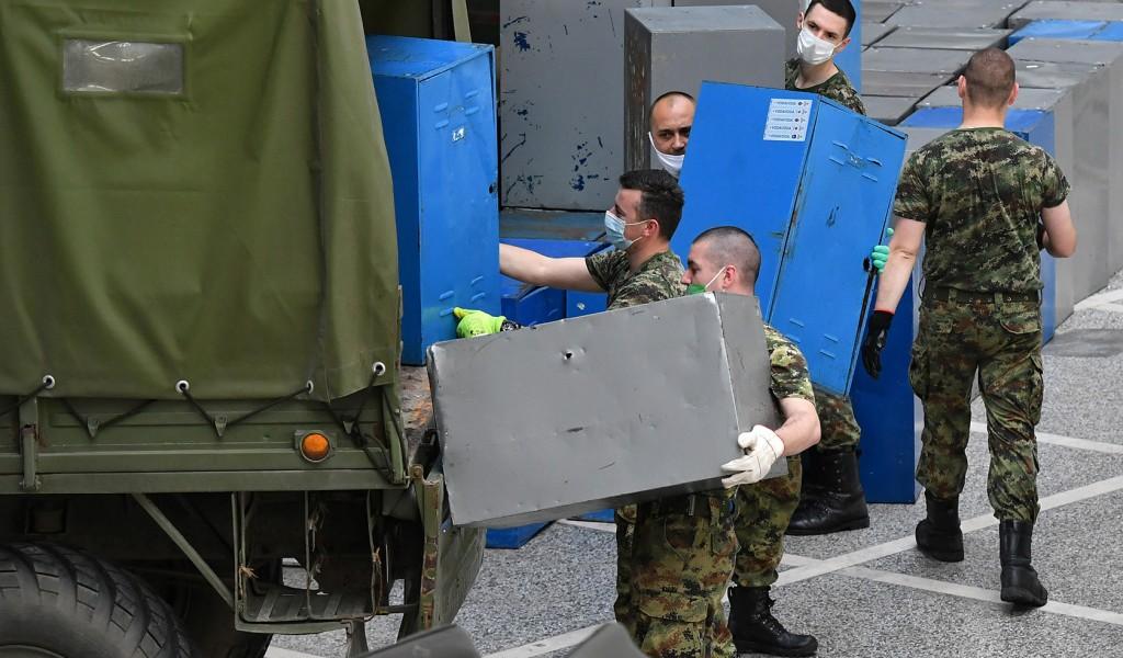 Vojska Srbije završava rasformiranje privremene bolnice na Beogradskom sajmu