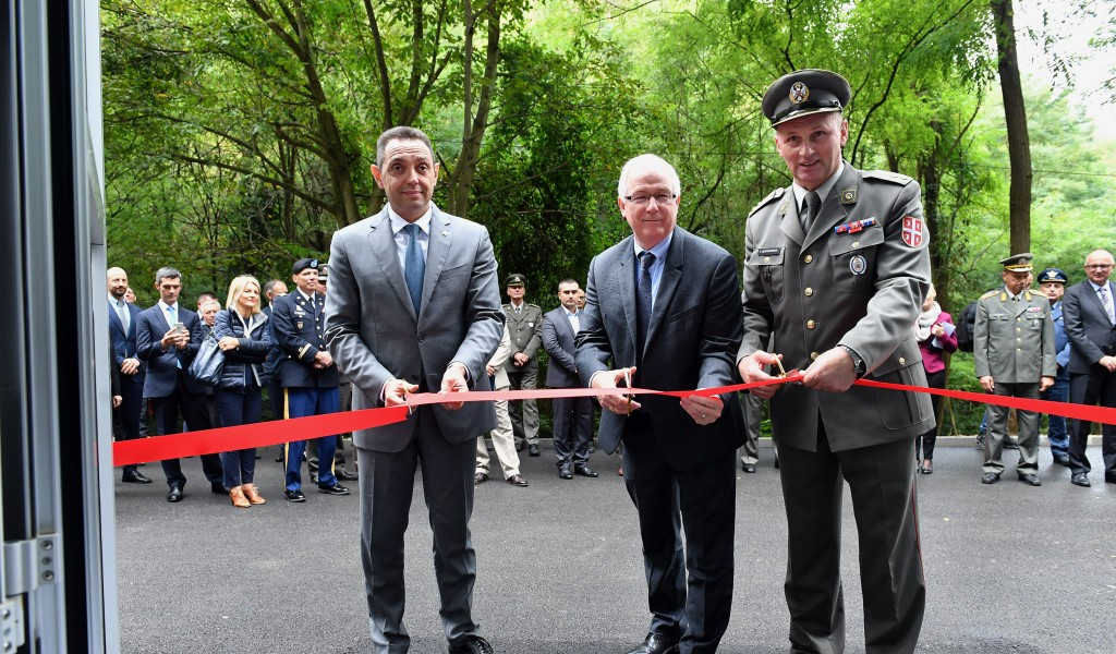 Minister Vulin Security of the citizens of Serbia comes first