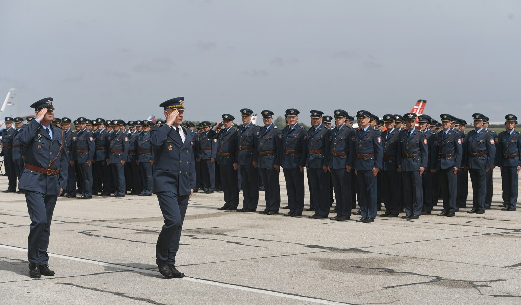 Celebration of the Serbian Armed Forces Day