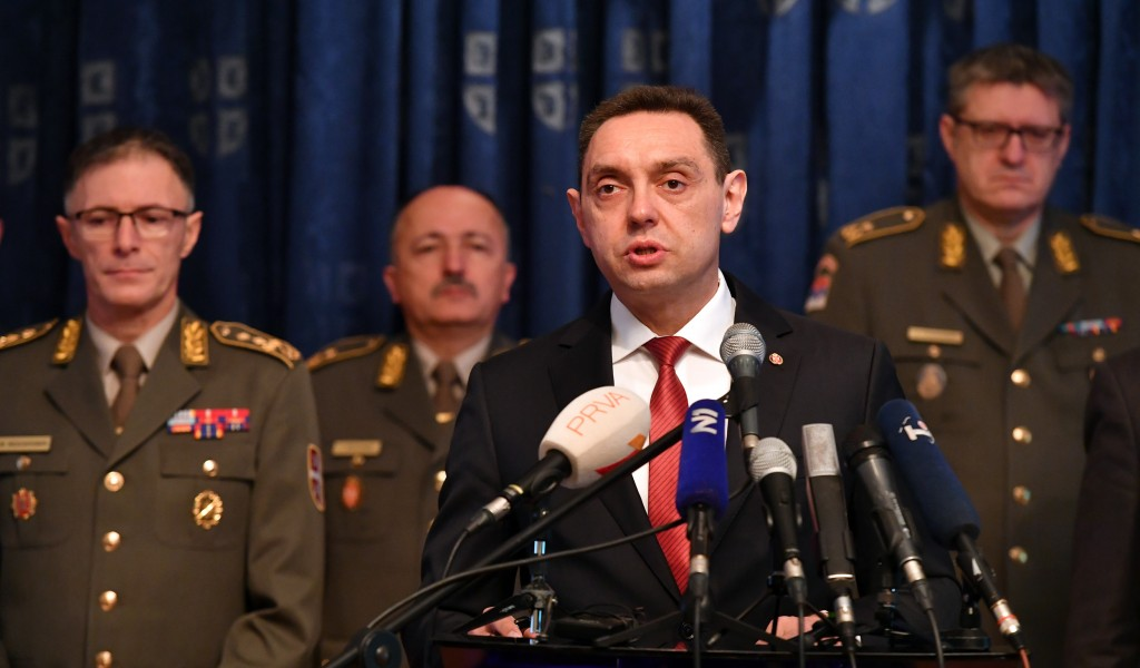 Minister Vulin Operation Krušik
