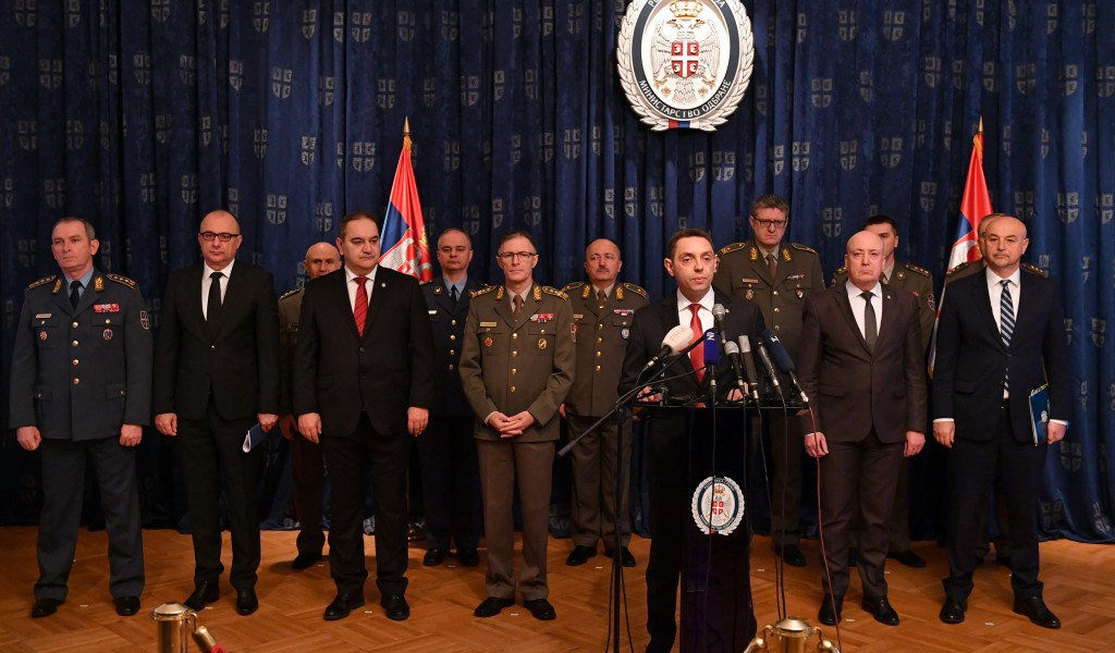 Annual Conference of the Minister of Defence on Key Results of the Work in 2019