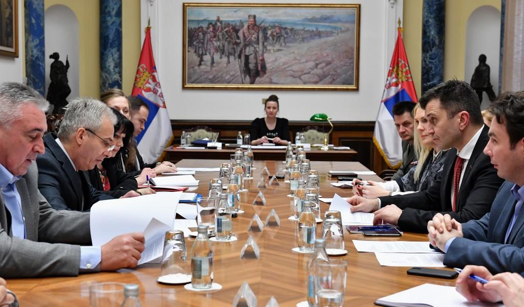 Седница Радне групе Одбора за Косово и Метохију