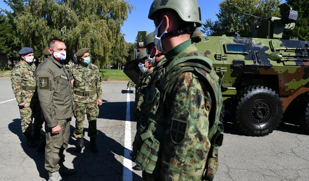 Ministar Vulin Doprinos Četvrte brigade očuvanju našeg mira je ogroman