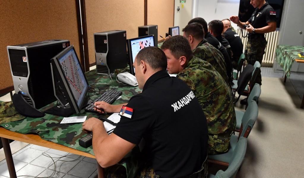 Вежба подржана рачунарским симулацијама Удар 2018
