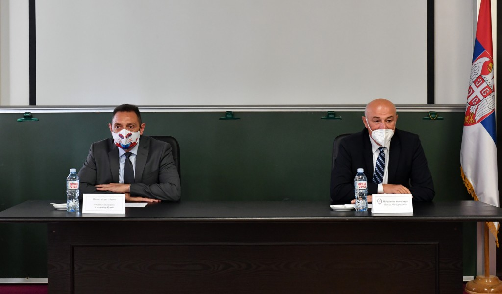 Министар Вулин Добри резултати Одбрамбене индустрије Србије у опремању Војске Србије