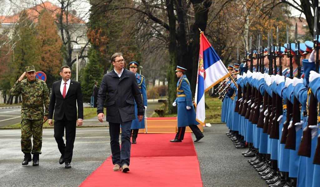 Referisanje predsedniku Republike o stanju u Vojsci Srbije