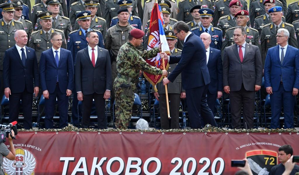 Херојској 63 и одликованој 72 бригади враћен заслужени статус