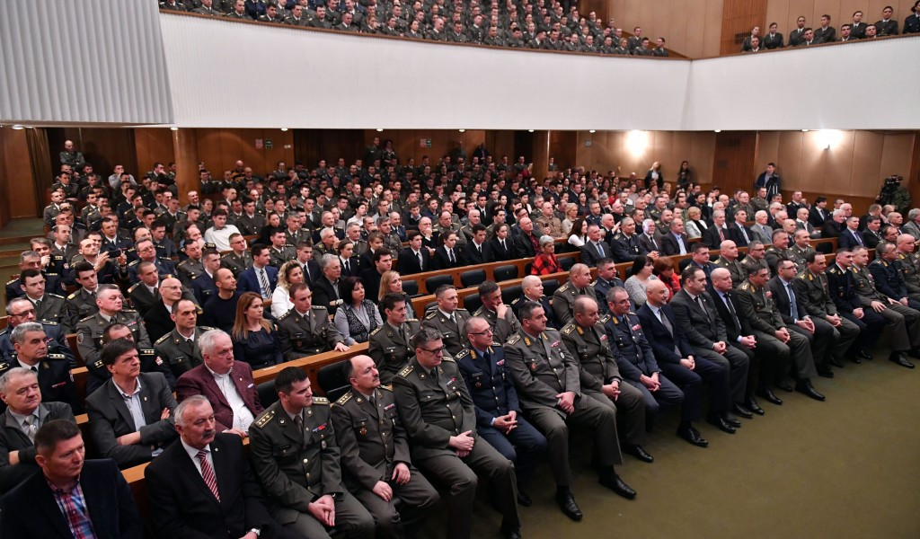The Military Academy Day Observed